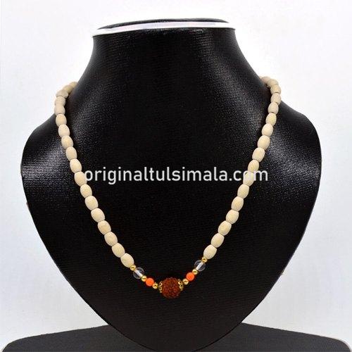 Wooden Beads Original 5 Face Rudraksha  Mala