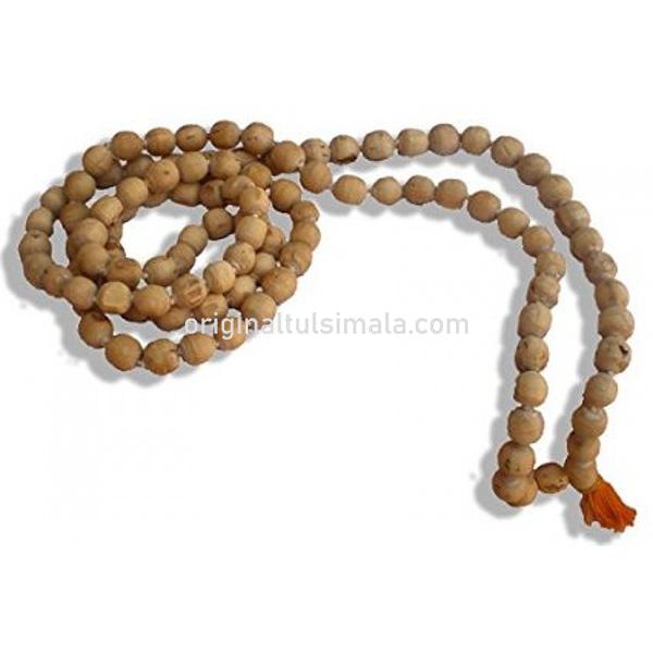 Round Tulsi Japa Beads Mala