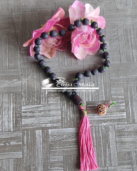 27 Beads Shyma Japa Mala with Ram Beads