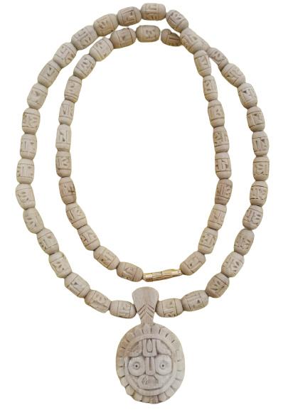 Jagannath Original Tulsi Locket With Radha Beads Mala