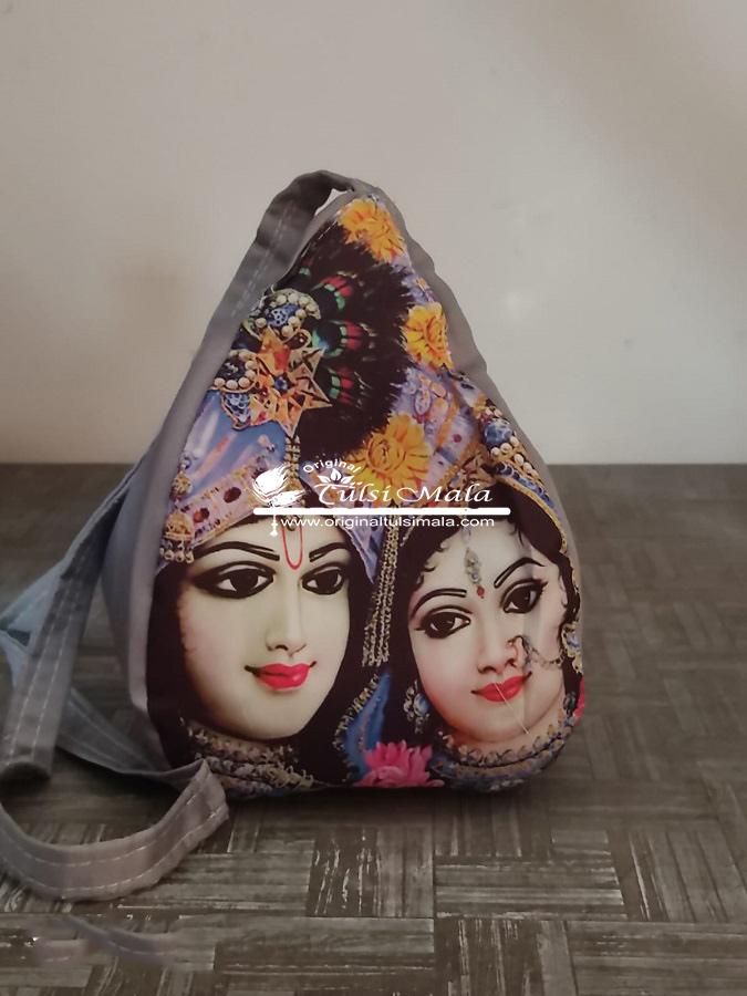 Shri Krishn with Radha Chanting Japa Bag