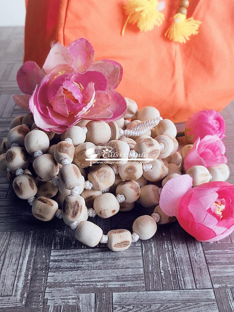 Tulsi Jap Mala 108 Beads With Japa Bag