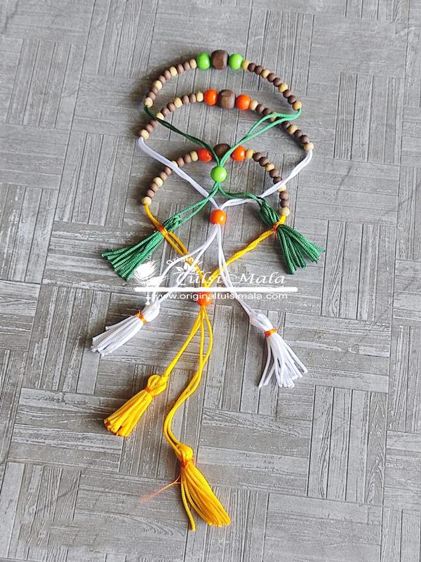 Multicolur Original Tulsi Beads Made Bracelet