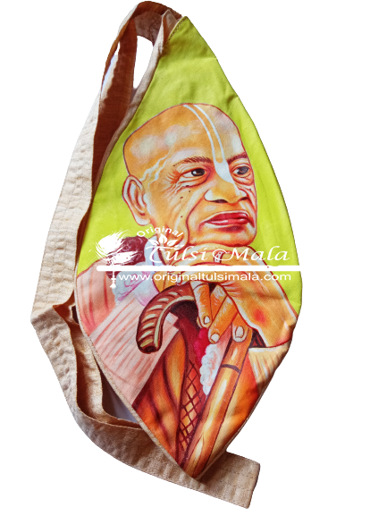 Srila Prabhupada Hand-Painted Japa Bag