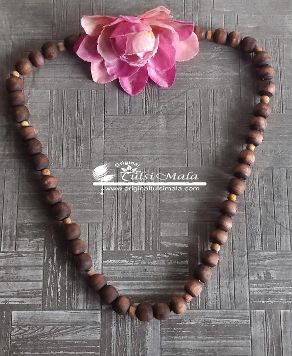 Round Beads Tulsi Kanthi Mala