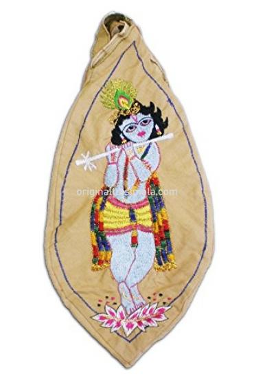 Tribhanga Krishna Japa Bead Bag