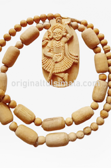 Krishna Tulsi Locket Mala