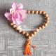 Original Sandalwood Japa Mala 14 mm - 27 + 1 (Guru) Beads