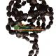 Tulsi Japa Mala 108 Beads Black 18mm Custom Design