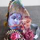 108 Beads Japa Mala with Gomukhi Bag and Counter mala
