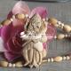 Shri Narasimha Tulsi Locket Mala Hand Made