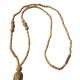 Tulsi Lotus Hand-Knotted Locket Mala