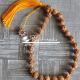 27 Beads Radha Naam Japa Mala with Radha Locket