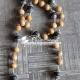 Silver Cap Original Tulsi Beads Mala