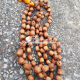 Tulsi Jap Mala 108 Beads With a Guru Bead and yellow Tassel - 20 mm Beads Size