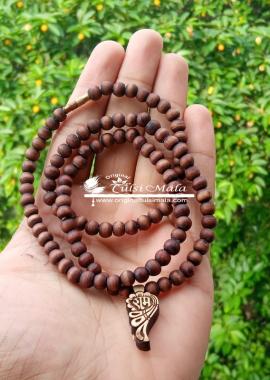 Ram Locket Tulsi Mala With 108 Beads