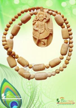 Krishna Tulsi Locket Mala