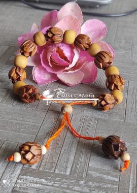 Lotus Tulsi Beads Braslate