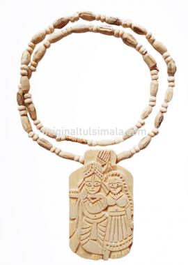 Radha-Krishna Tulsi  Locket Mala