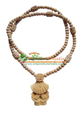 Shri Radha Charan Original Tulsi Locket Mala