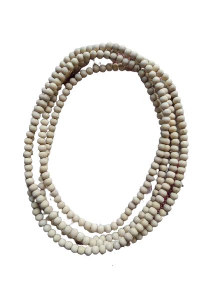 Three Round Spherical Beads Tulsi Kanthi Mala